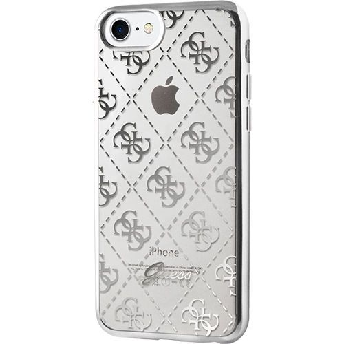 225b4d15fde Guess-Scarlett-Cover-for-iPhone-7-Plus-Silver | Guess | Iphone ...