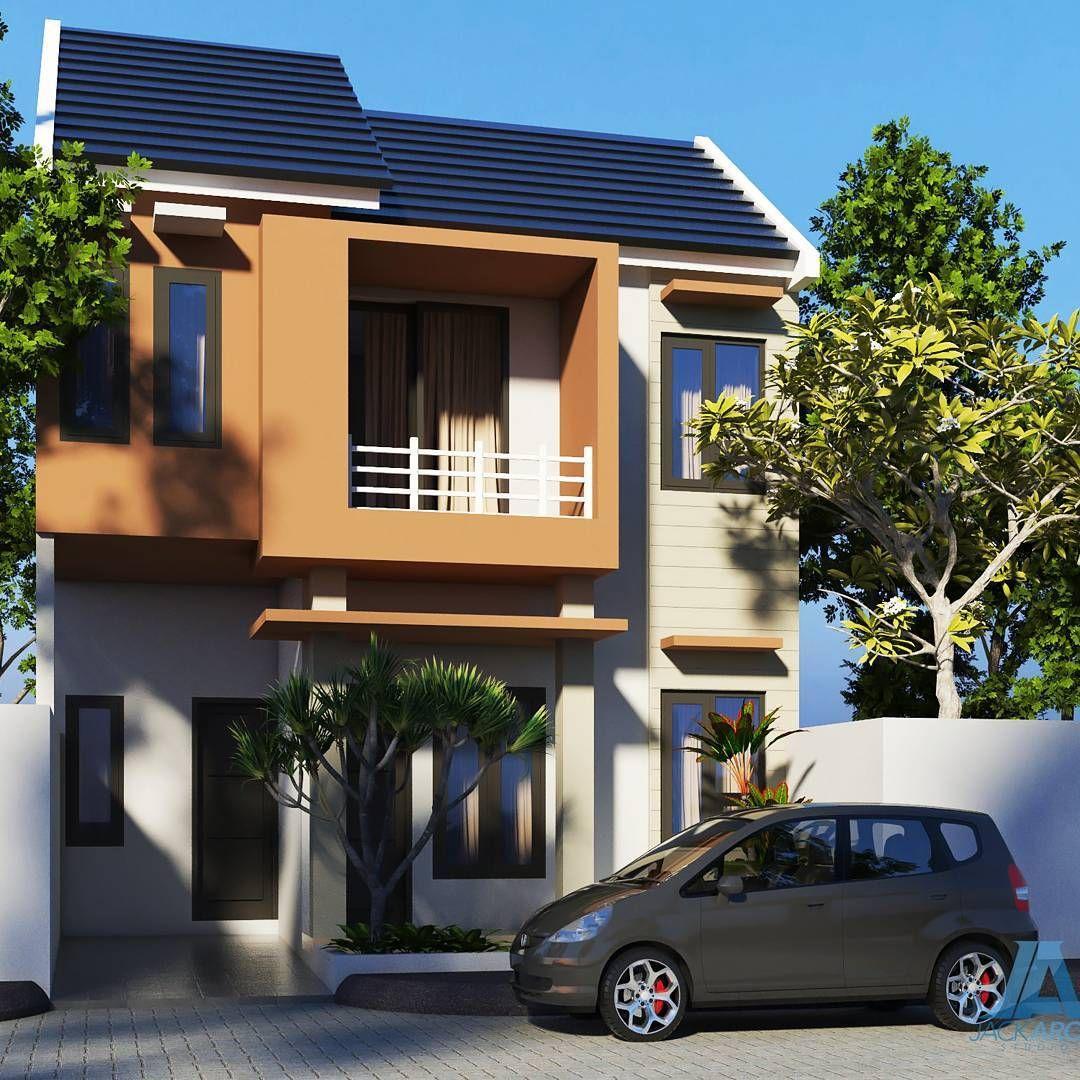Model Rumah Minimalis Tipe 36 2 Lantai Lagi Ngetrend Desain