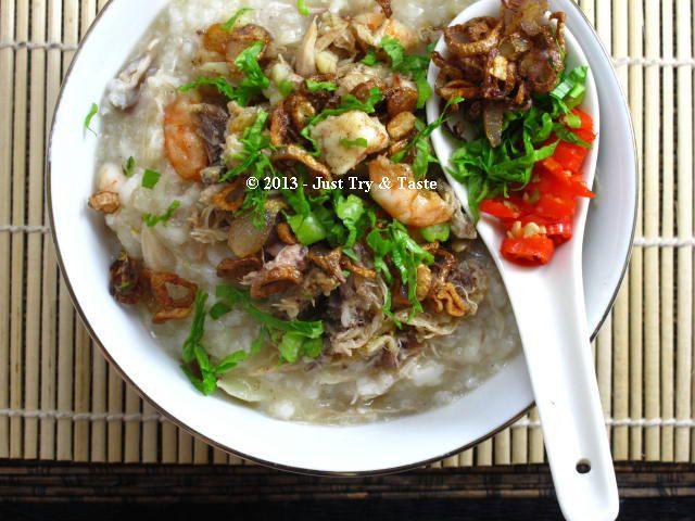 Resep Pembaca JTT: Kanji Rumbi - Bubur Ayam Khas Aceh | Resep, Resep makanan, dan Ayam