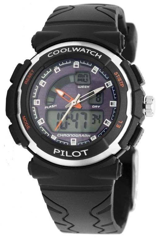 Coolwatch Kinderhorloge Pilot Cw271 Gaaf Vormgegeven