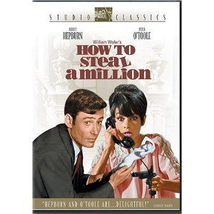 How To Steal A Million (1966) Starring Audrey Hepburn and Peter O'Toole.