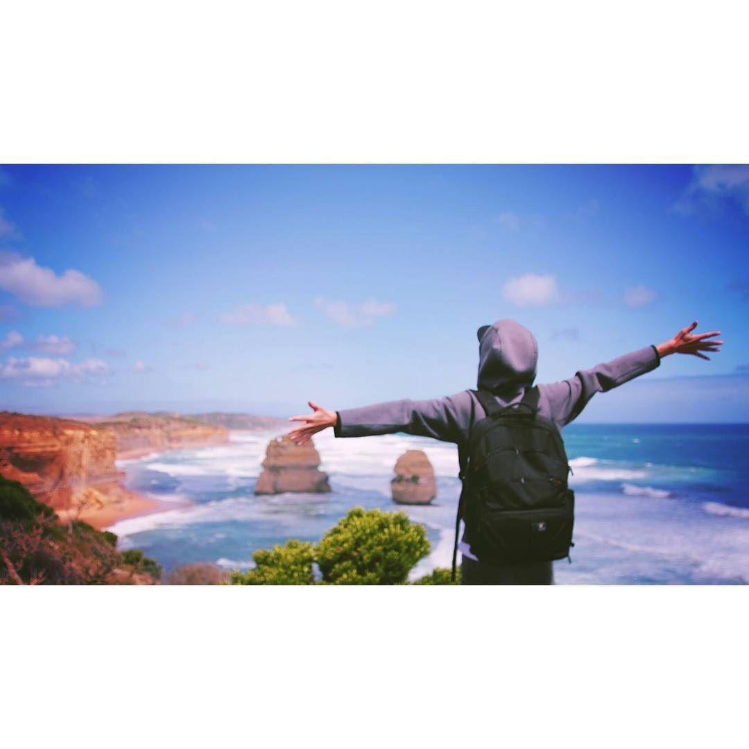 가는 길에 흐리고 비와서 걱정 많이 했네  #australia #melbourne #greatoceanroad #12apostles #trip #호주 #멜번 #멜버른 #그레이트오션로드 #12사도 #여행스타그램 #여행에미치다 by onetube_vifac