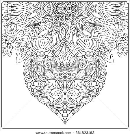 older valentines day coloring pages - photo#42