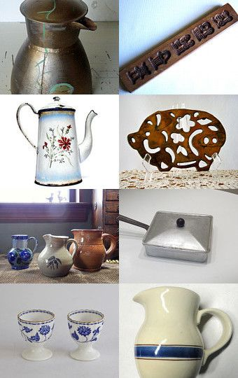 Rustic Kitchenware~ Vintage VogueTeam by Susan on Etsy--Pinned with TreasuryPin.com