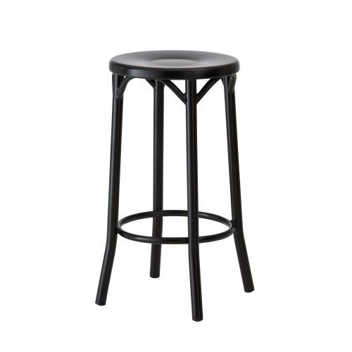 Swell Paris Bentwood Steel Stool Reproduction 65Cm Mattt Dailytribune Chair Design For Home Dailytribuneorg