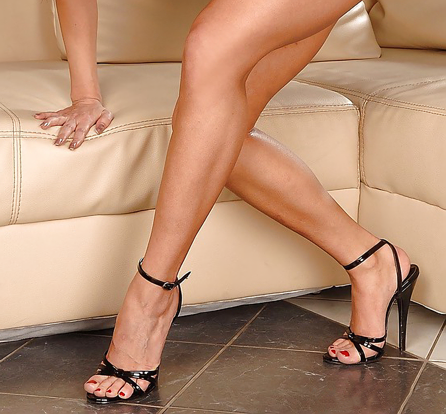 Sexy strappy high-heel sandals. | Sexy Fashion High Heels ...