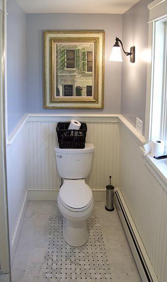 nice tile and beadboard bathroom | Decorating | Pinterest | Alcove ...