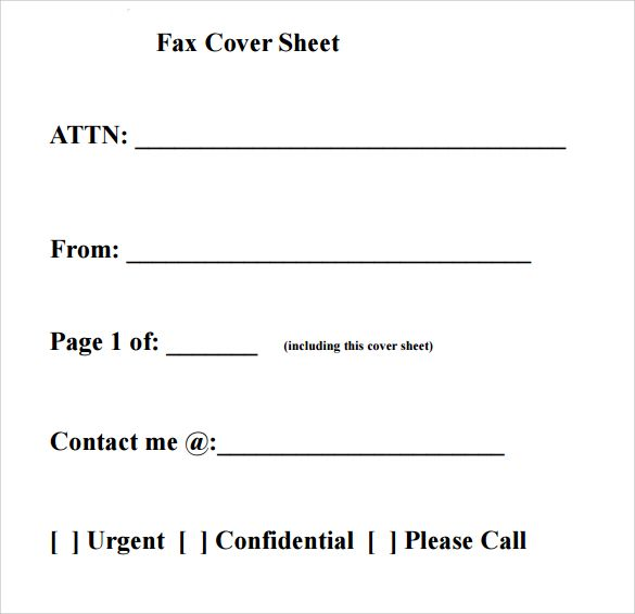 fax cover sheet template   calendarprintablehub/fax-cover