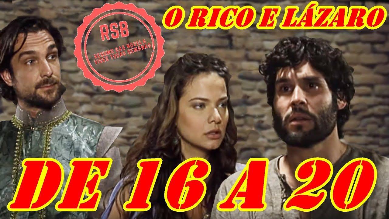Resumo O Rico e Lázaro 16 à 20 março 2020 em 2020 O rico