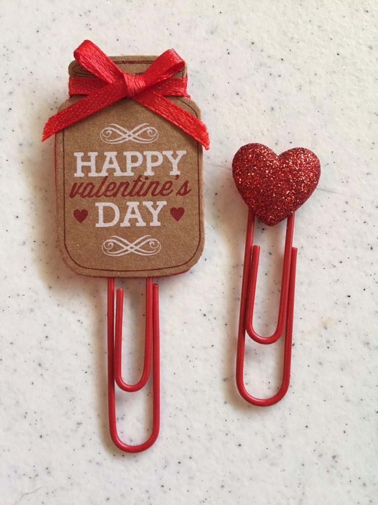Cookie Planner Clip Paper Clip Bookmark Gift Handmade