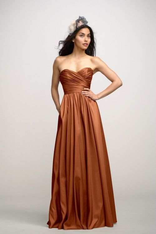 copper bridesmaid dress - Google Search | Wedding | Pinterest ...