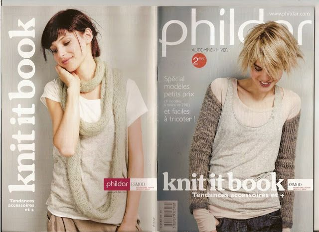 Phildar Knit It Book Tricot Pinterest Tricot Crochet And