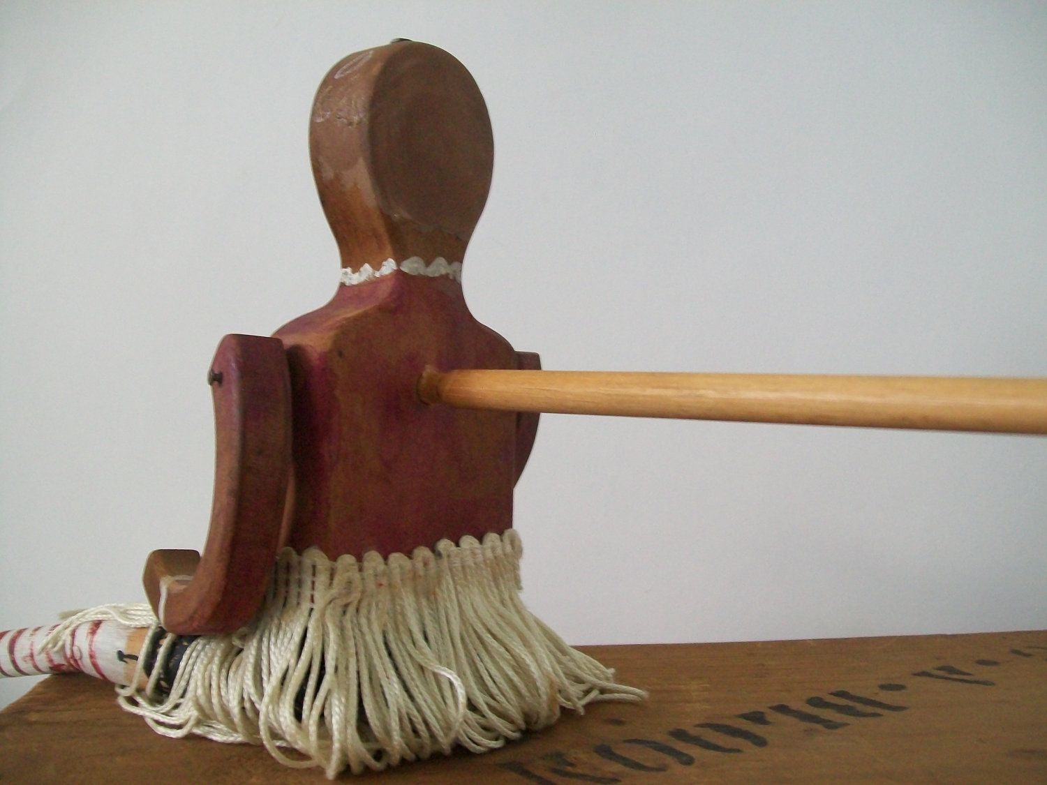Antique Folk Art Jig Doll