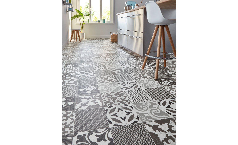 sol vinyl carreaux de ciment interesting carreau de ciment sol sol de cuisine en carreaux. Black Bedroom Furniture Sets. Home Design Ideas