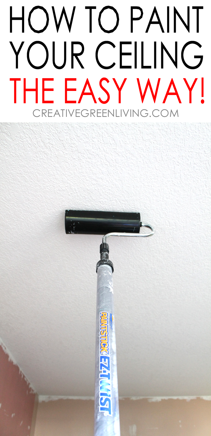 How To Paint A Ceiling Tips To Do It The Fastest Easiest Way Painted Ceiling Painting Tips Home Decor Tips