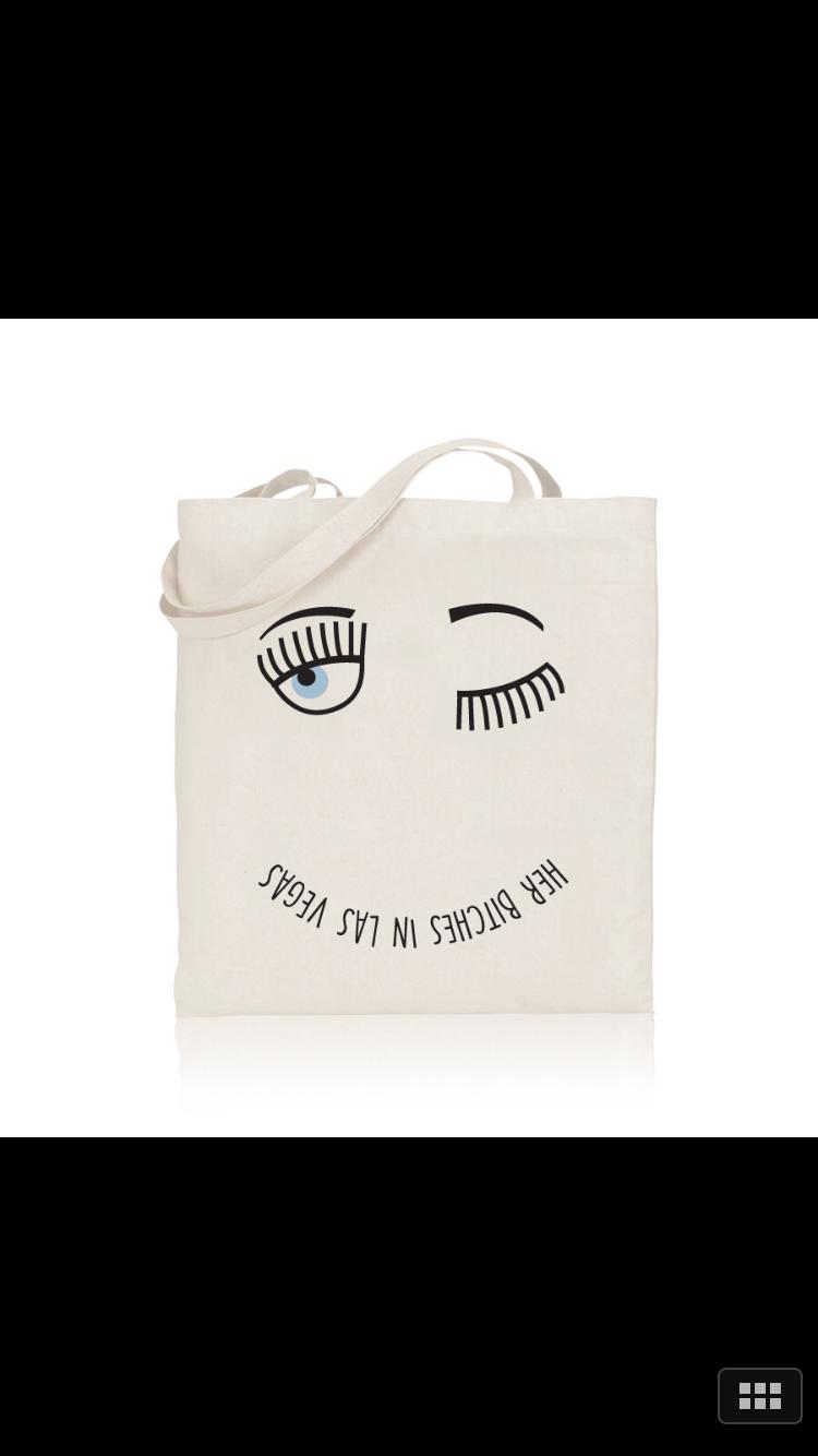 Bag design for bachelorette