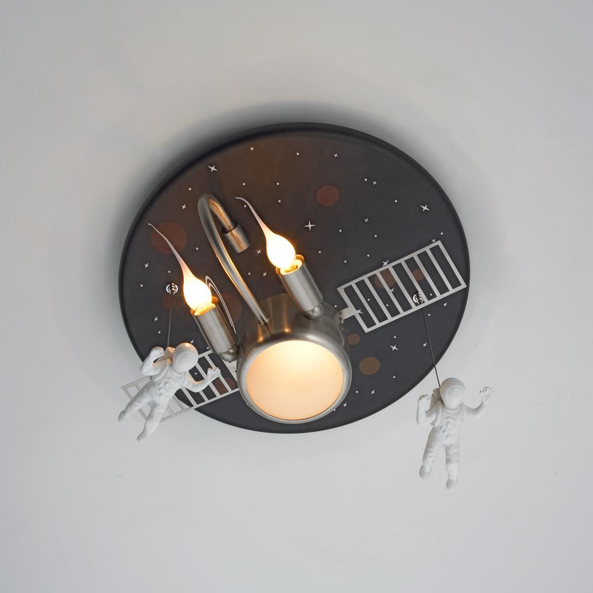 Astronaut ceiling light childrens lighting rugs pinterest astronaut ceiling light arubaitofo Gallery