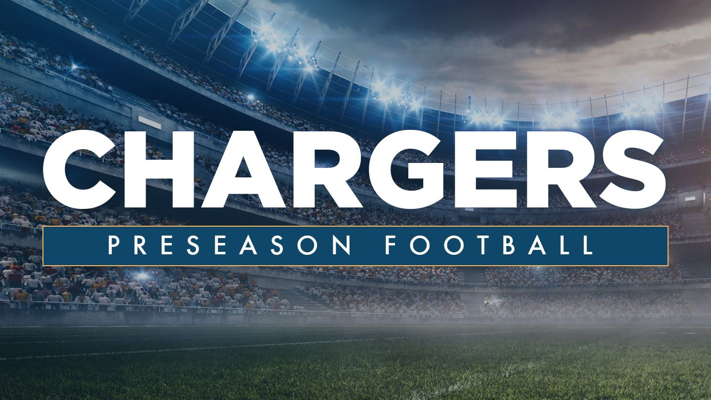 Carson Aug 20 Los Angeles Chargers Preseason Football Los Angeles Chargers Los Angeles Chargers
