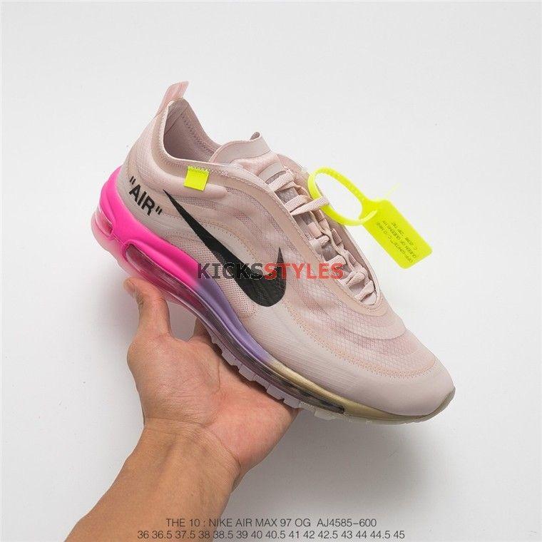 Off White Nike Air Max 97 Elemental Rose Serena Queen