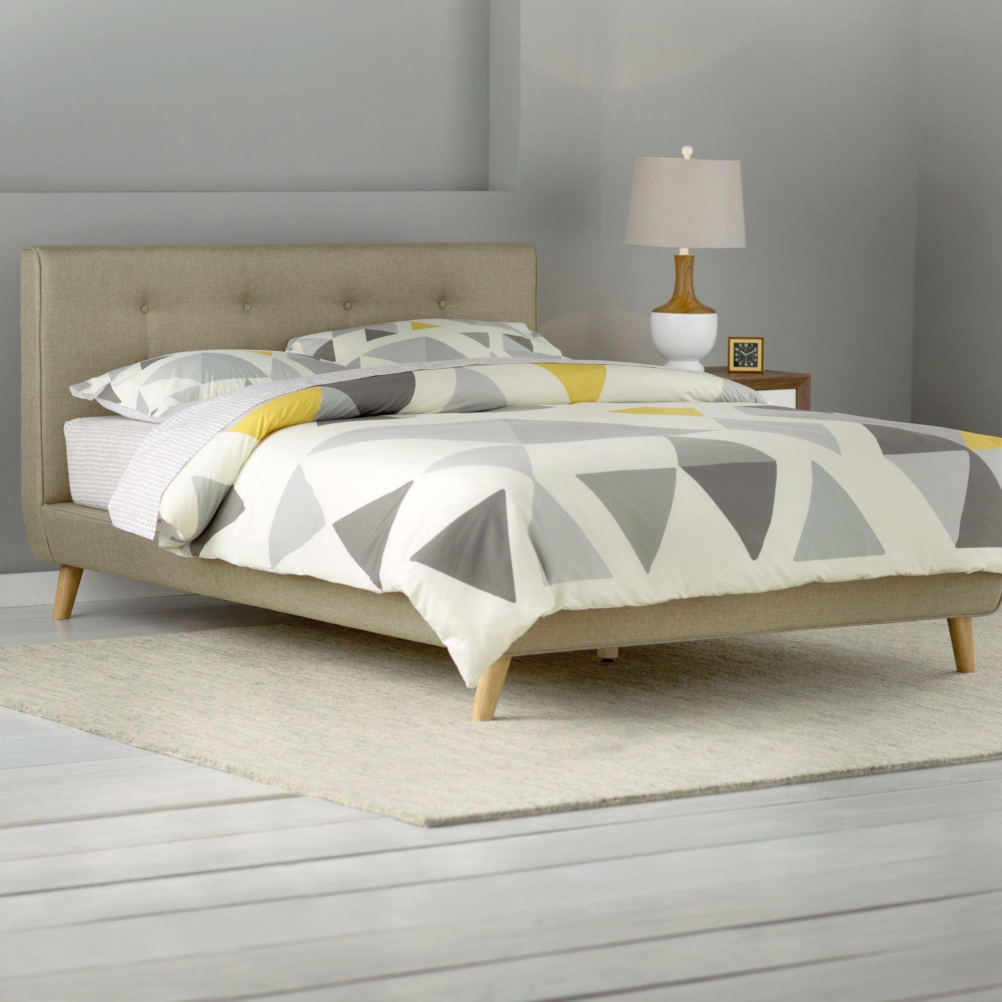 Rasmussen Upholstered Platform Bed | Furniture | Pinterest