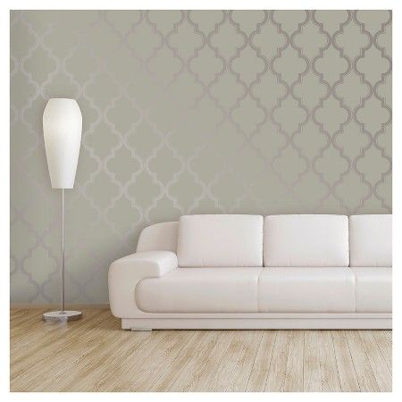 Devine Color Peel And Stick Wallpaper Cable Stitch Pattern Mirage And Metallic Sterling Peel And Stick Wallpaper Teal Wallpaper Living Room Remodel