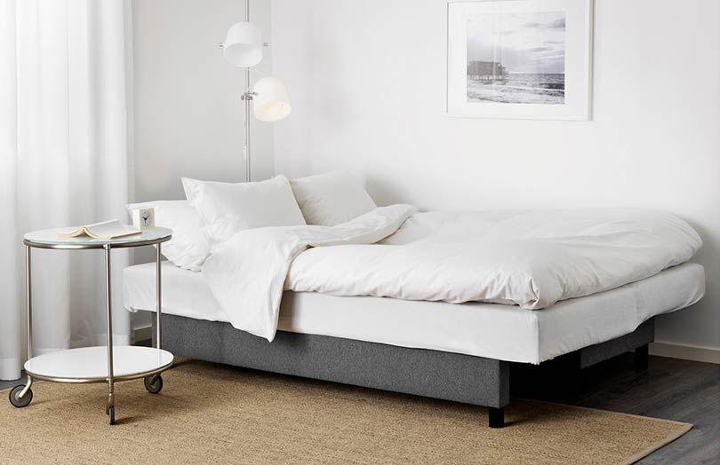 Test Canape Convertible Ikea Asarum Canape Lit Idees De Lit Canape Beige