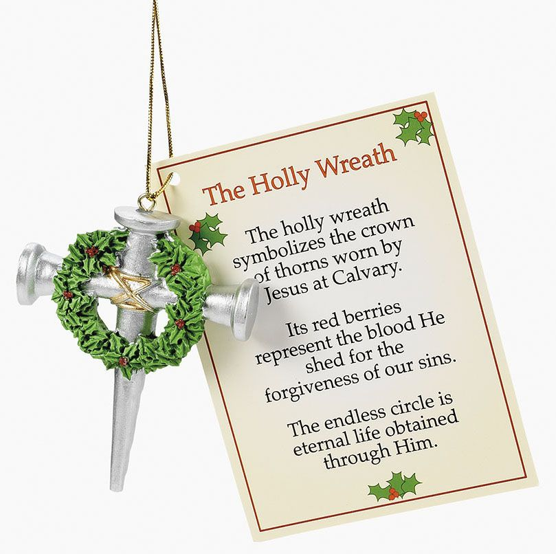 Religious Christmas Ornament: Christian Meaning Christmas Ornaments