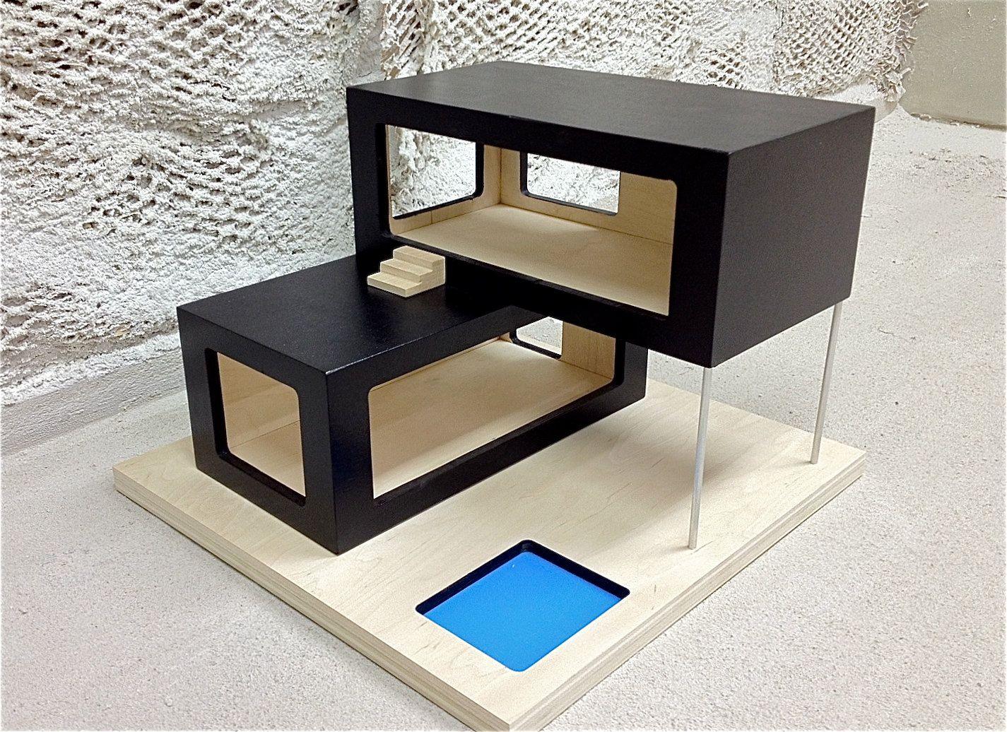 contemporary dollhouse furniture. Modern Dollhouse 2 Contemporary Furniture A