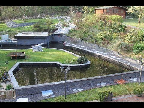 Les bases pour créer un bassin de jardin sans trop conneries