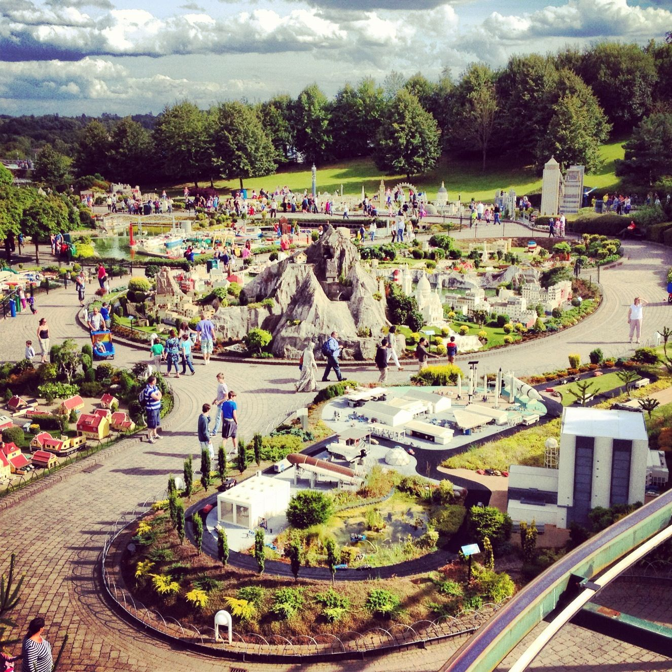Legoland. Windsor.  Yes, even before we had children, we toured Legoland. It doesn't matter your age, Legoland is a fun place to visit!!