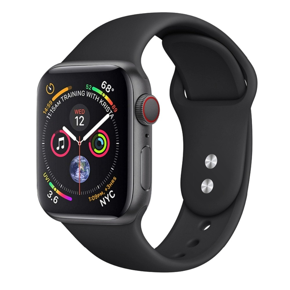 Soft Silicone Band for Apple Watch in 2020 38mm apple