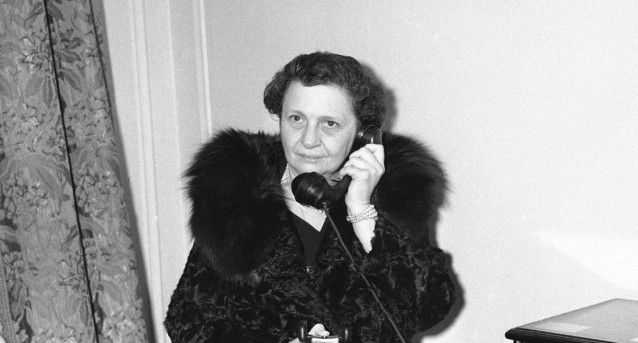 Frances Perkins, first woman appointed to the president's cabinet ...