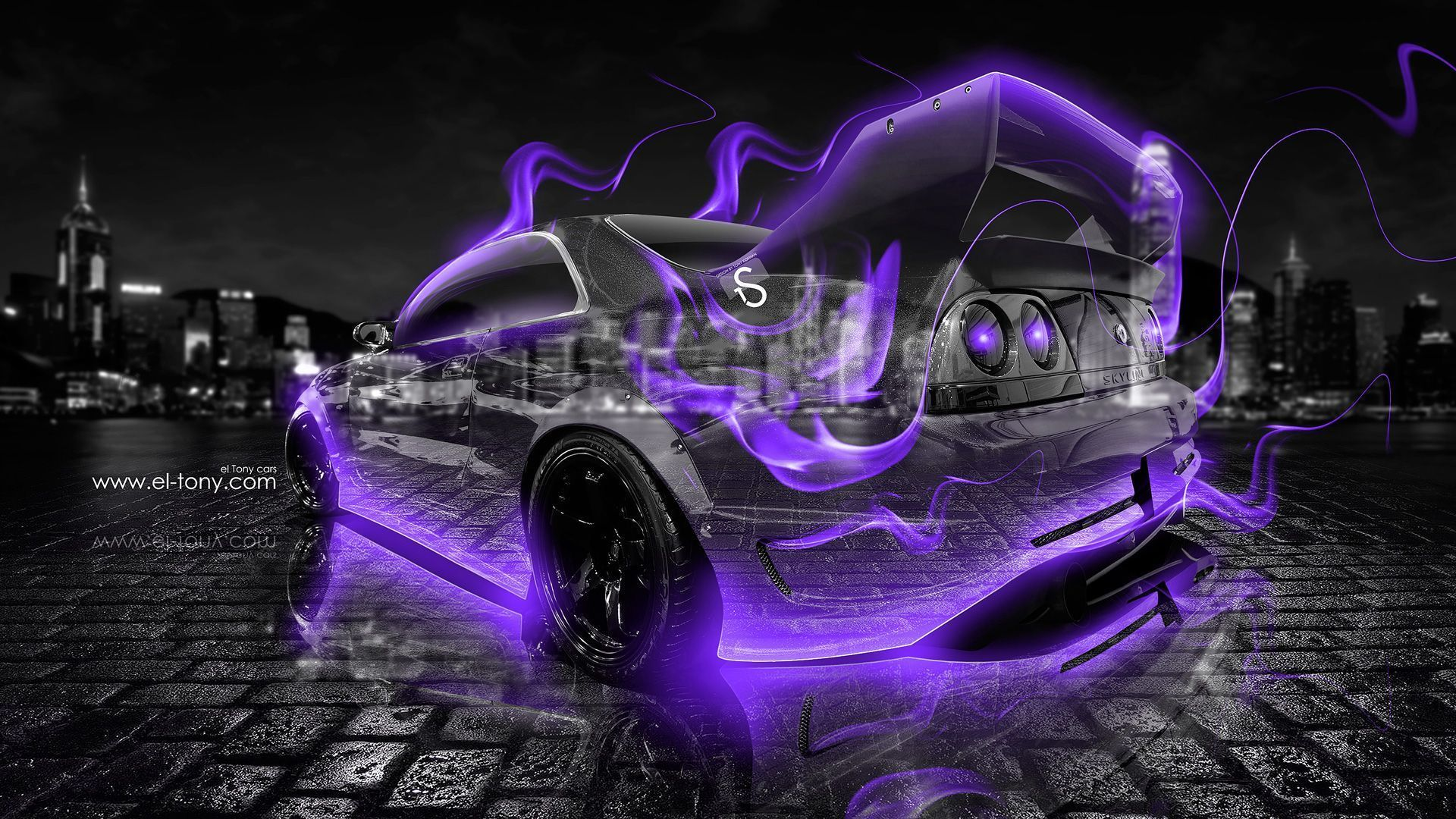 Merveilleux Nissan Skyline GTR R33 JDM Front Fire Car 2014 « El Tony