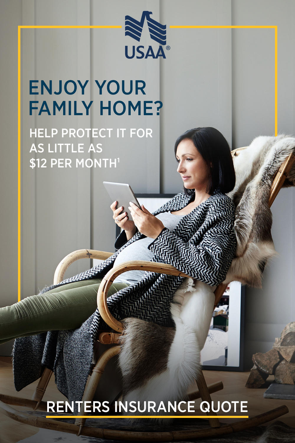 Help Protect Your Home With Renters Insurance From Usaa We Offer
