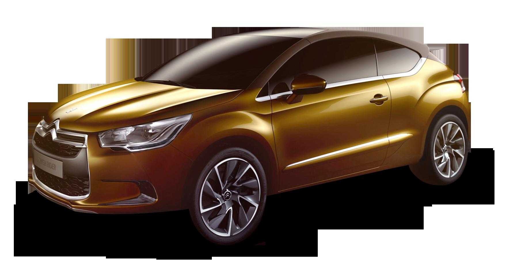 Gold Citroen Ds High Rider Car Citroen Citroen Ds Png Images