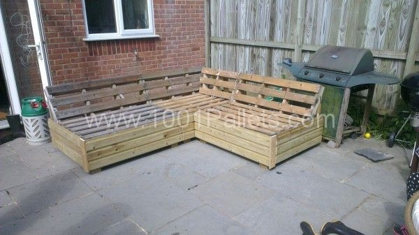 pallet garden furniture ideas - AZ Home Plan - AZ Home Plan