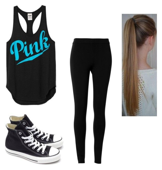 """""""Untitled #4110"""" by hannahmcpherson12 ❤ liked on Polyvore featuring Max Studio and Converse"""