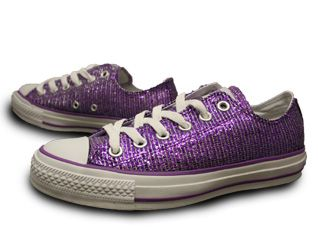 a73e8d600a58 Purple sparkle converse definitely show the Relay spirit in style ...