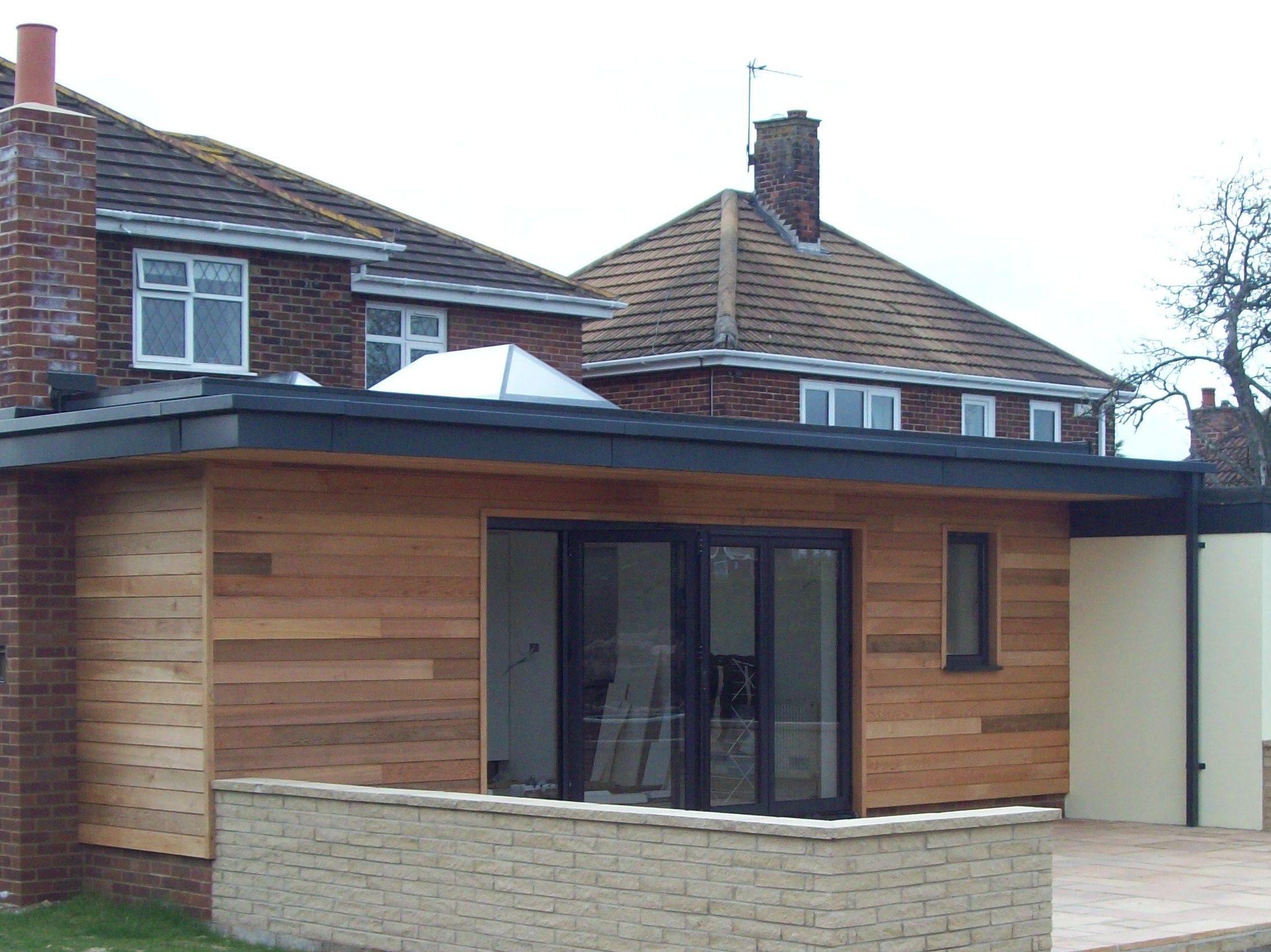 Cladding backyard fun pinterest extension google for Porch extension