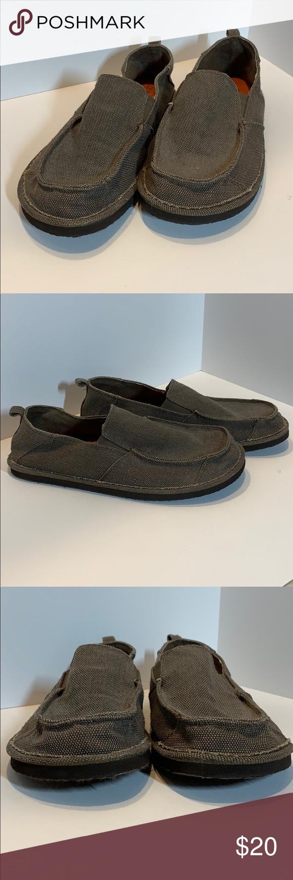 OP Ocean Pacific Mens Canvas Shoes