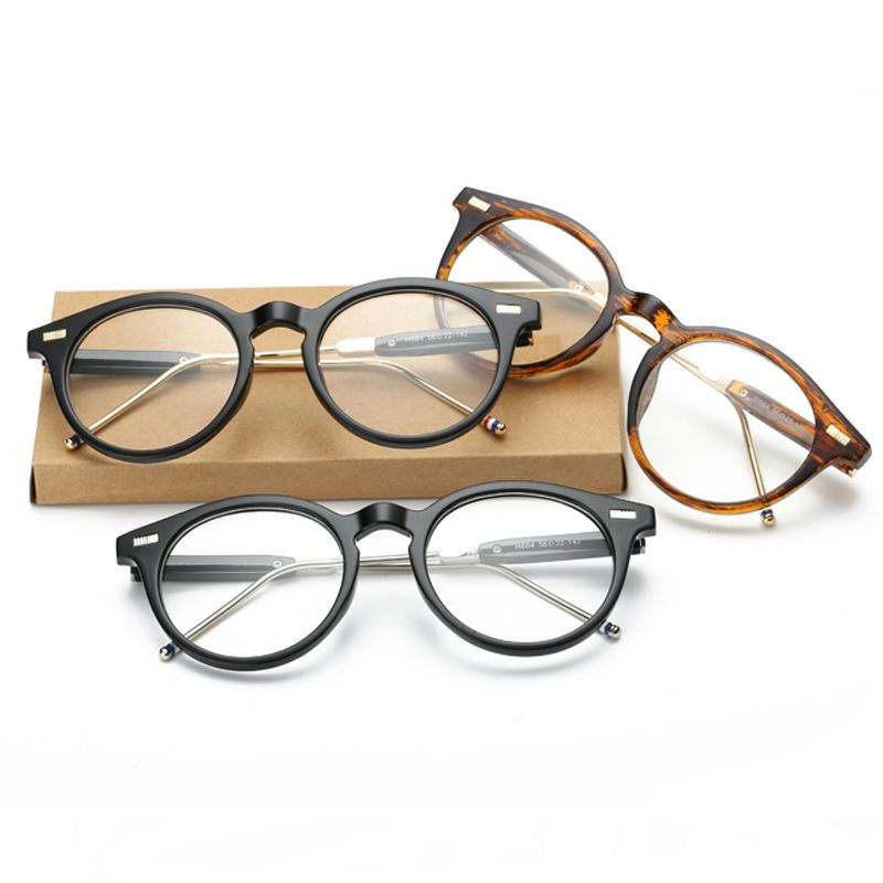 Newest Round Eyeglasses Frame Man Vintage Glasses Women Men Glasses ...