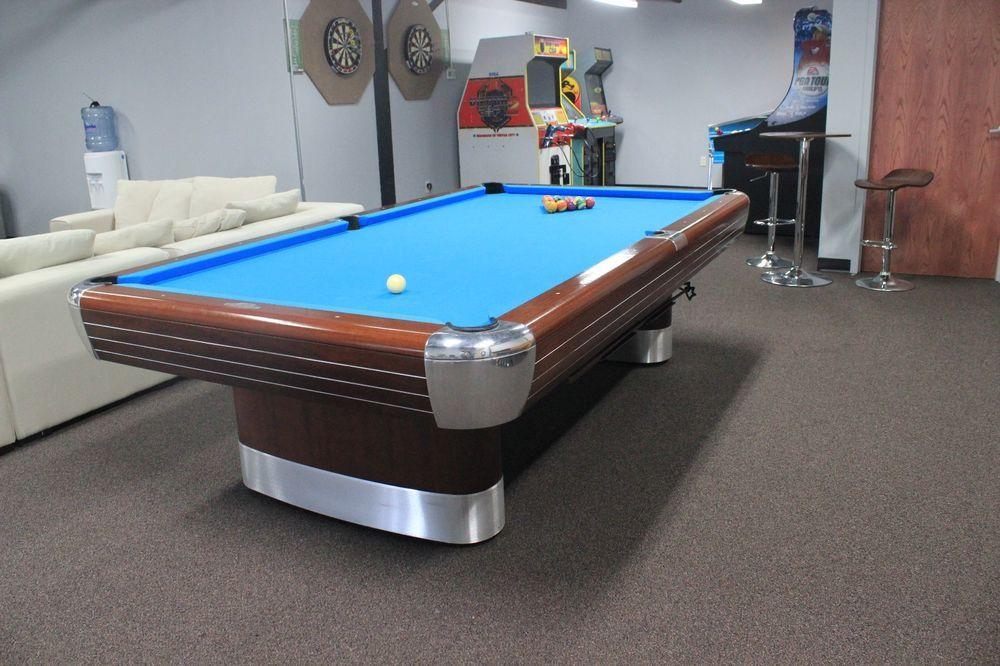 Brunswick Anniversary Pool Table Professionally Restored To - Brunswick anniversary pool table for sale