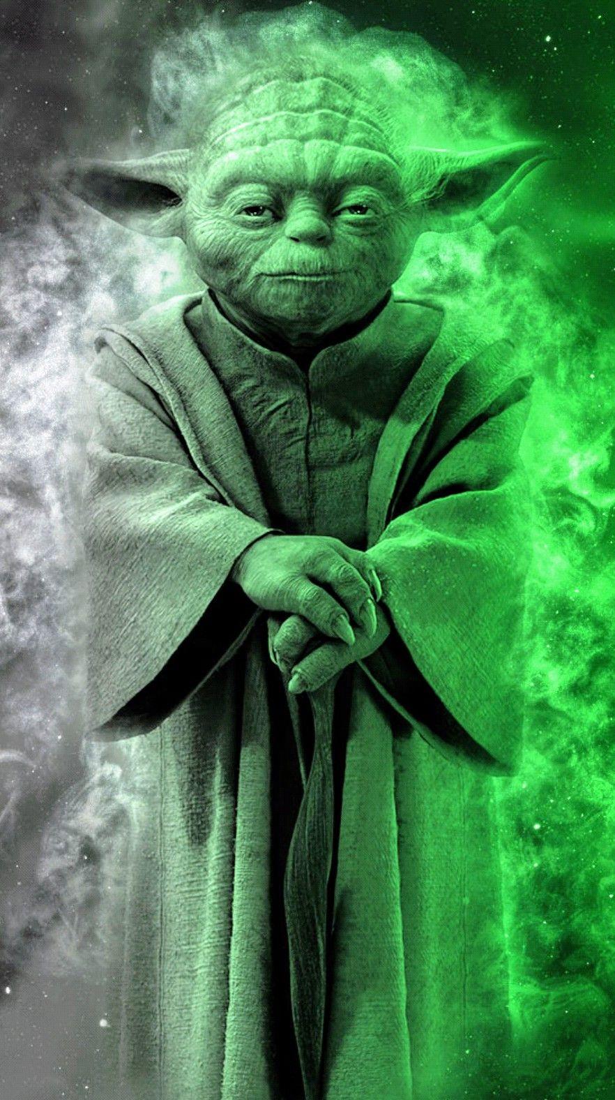Cool Looking Artwork Of Jedi Master Yoda Starwars Yoda Jediknight Jedi Maytheforcebewithyo Star Wars Background Star Wars Images Star Wars Movies Posters