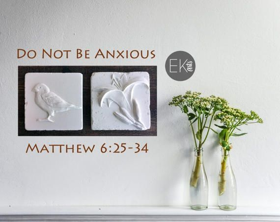 Do not be anxious christian gift easter gift christian wall art do not be anxious christian gift easter gift christian wall negle Images