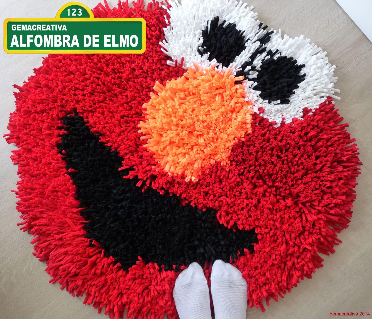 Al fin ya la he terminado he aqu la alfombra de for Lana especial para alfombras