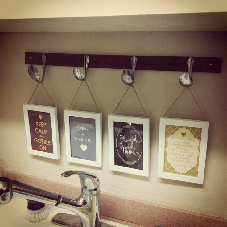 Kitchen wall decor on pinterest
