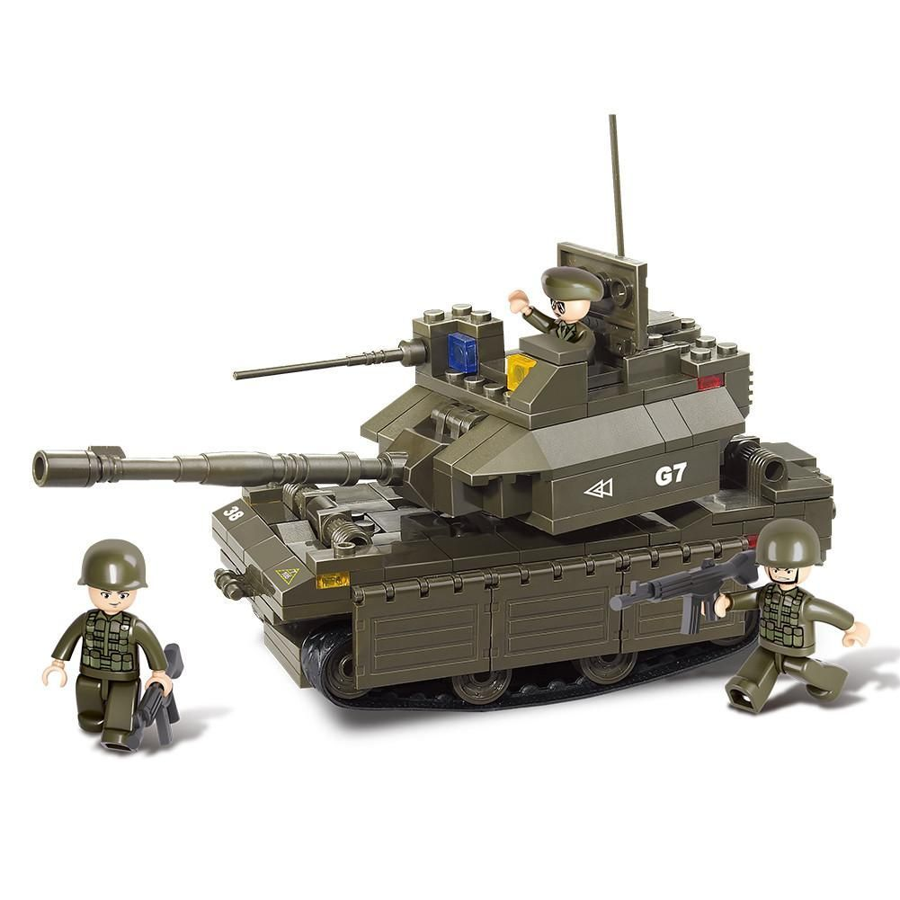 Main Building Group Pictures: US Army M1 Abrams Main Battle Tank Building Blocks Set Toy