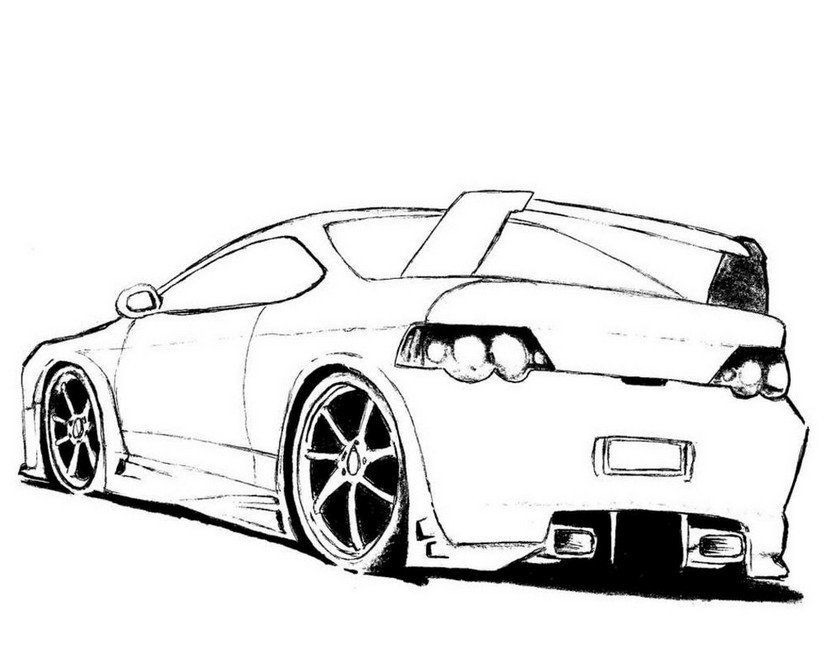 Coloring Page Cars Hd Coloring Page Pinterest