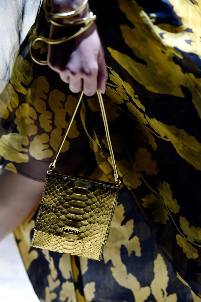 Lanvin S/S 2015 - #bag #Details #lanvin #runway