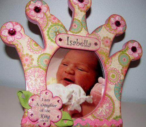 Princess Frame for baby